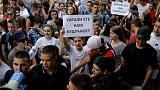 تلاميذ في صربيا يحتجون على تسريب امتحان في الرياضيات