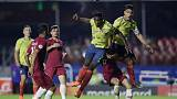 Late Zapata goal gives Colombia 1-0 win over Qatar