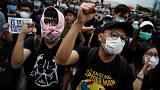 Activists in Hong Kong make pitch to extradition protesters - register to vote