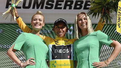 Ciclismo: Svizzera, Bernal nuovo leader