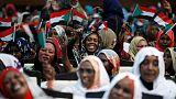 المئات يتظاهرون في عواصم ولايات سودانية للمطالبة بحكم مدني