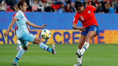 Chile beat Thailand but both eliminated from World Cup