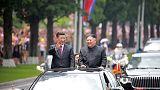 Xi, Kim say boosting China-North Korea ties good for regional peace - KCNA