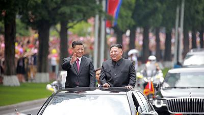 Xi, Kim say boosting China-North Korea ties good for regional peace - KCNA