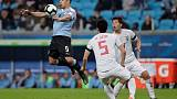 Uruguay fight back against Japan with help of VAR controversy