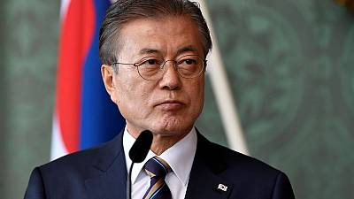 South Korea's Moon replaces top economic policy aides as economy cools