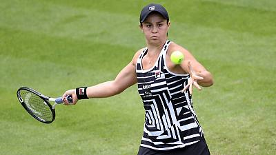 Osaka's Birmingham exit gives Barty shot at number one