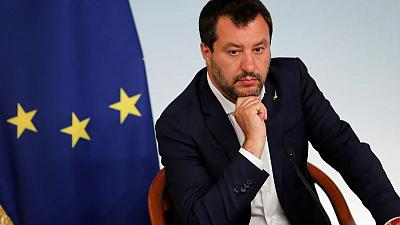 Italy's Salvini says he'll quit if government can't cut 10 billion euros in taxes - paper