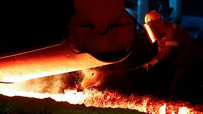 German manufacturing decline eases as services grow - flash PMIs