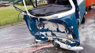 Tedesco muore in scontro auto storica