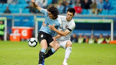 Coppa America, Uruguay-Giappone 2-2