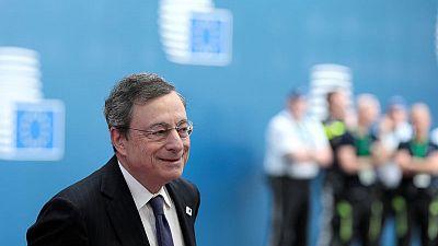 ECB's Draghi repeats dovish monetary policy message to EU leaders