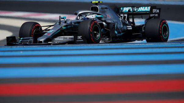 مرسيدس يهيمن على التجارب الحرة لسباق فرنسا