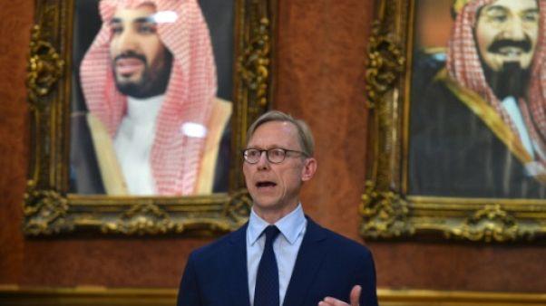 L'envoyé spécial des Etats-Unis pour l'Iran, Brian Hook, lors d'une visite en Arabie saoudite le 21 juin 2019