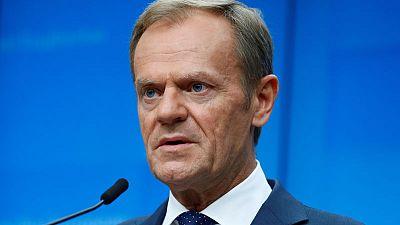 EU's Tusk - Brexit deal not open for renegotiation