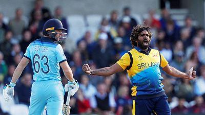 Malinga steers Sri Lanka to thrilling win over England in World Cup