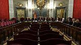 Vue générale de la Cour suprême à Madrid le 21 juin 2019