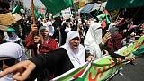Hundreds of Jordanian Islamists protest against Trump peace plan
