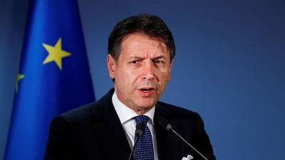 In blow to EU, Italy's PM backs tax cuts, cautious on euro zone reform