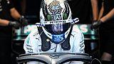 Le pilote finlandais Valtteri Bottas (Mercedes) lors de la 2e séance d'essais libres pour le GP de France, le 21 juin 2019 au Castellet