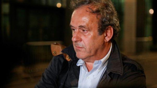 Michel Platini le 19 juin 2019 à Nanterre