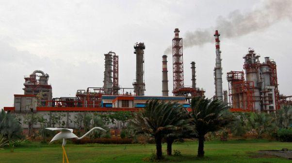 انتاج الهند من النفط الخام في مايو يهبط 7% على أساس سنوي