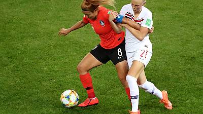 Norway's Saevik juggling studies and sport at women's World Cup