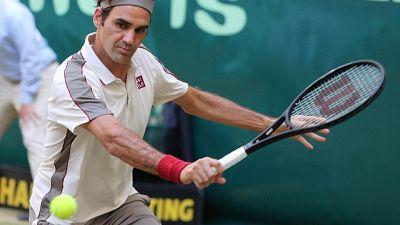 Federer-Herbert, semifinale ad Halle