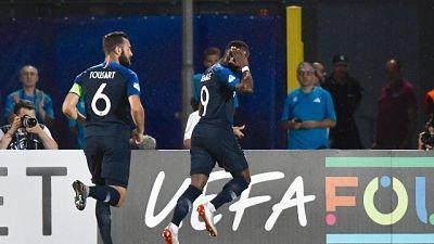 Euro U.21, Francia-Croazia 1-0