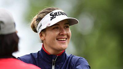 Hannah enjoys rub of the green en route to Women's PGA lead