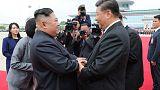 وكالة: زعيما كوريا الشمالية والصين يبحثان تعزيز التعاون المشترك