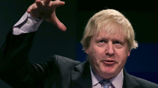 Discours de Boris Johnson, alors ministre des Affaires étrangères, devant la Chambre de commerce britannique à Londres en février 2017
