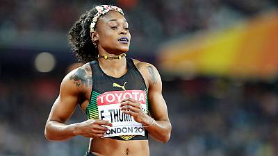 Thompson scorches to 100 meters victory at Jamaica trials