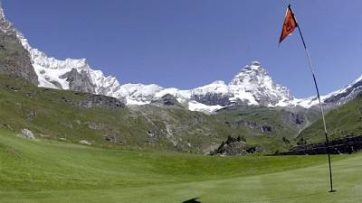 Golf, a Cervinia Coppa banca Sistema