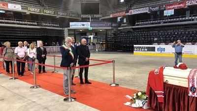 Hockey, Bolzano saluta Gino Pasqualotto