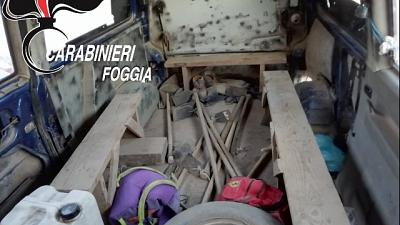 Guida furgone, denunciato per caporalato