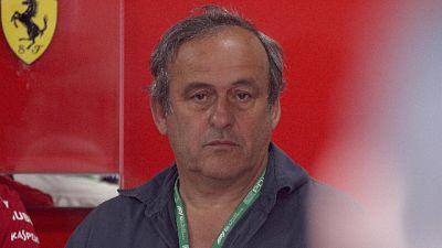 F1: Francia, Platini visita box Ferrari