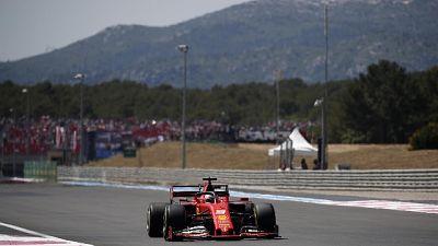 F1: Vettel, qualifica un po' strana