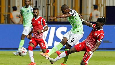 Nigeria need late Ighalo goal to break down debutants Burundi