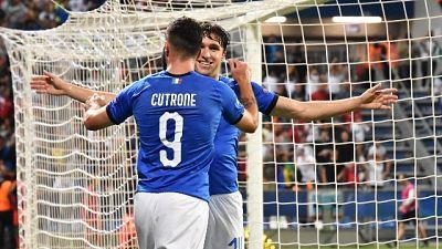 Euro U21: Italia-Belgio 3-1