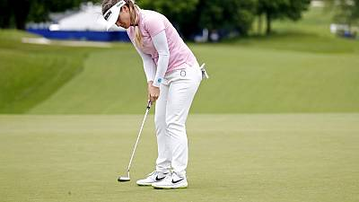 Green leads Ariya by one shot at Women's PGA