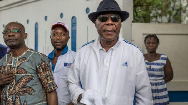 L'ancien président du Bénin Boni Yayi le 19 avril 2019 à Cotonou