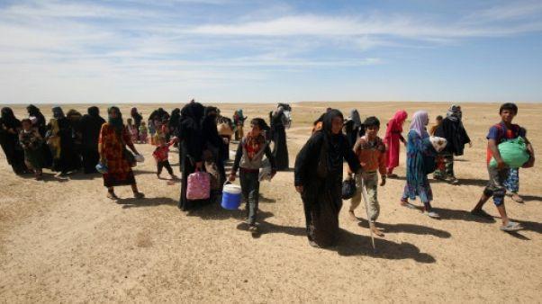 """Après l'EI, la """"haine"""" ronge les familles à Mossoul"""
