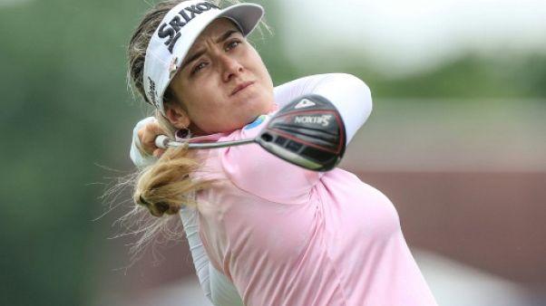 L'Australienne Hannah Green lors du 3e tour du du Championnat PGA, troisième tournoi du Grand Chelem de l'année sur le circuit LPGA, le 22 juin 2019 à Chaska (Minnesota)