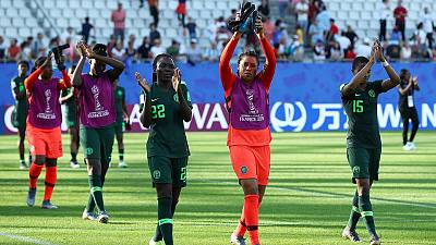 Nigeria players protest unpaid bonuses after World Cup elimination - ESPN