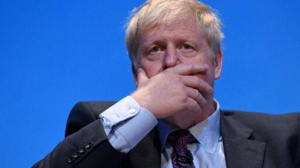 Le député britannique Boris Johnson, candidat au poste de Premier ministre, lors d'un meeting à Birmingham le 22 juin 2019