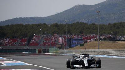 F1: Francia, Hamilton in testa dopo via