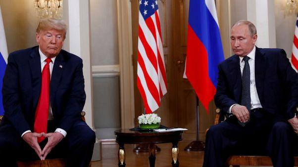 """تلفزيون: ترامب يقول """"ربما"""" يجري محادثات مع بوتين بقمة العشرين بشأن التدخل في الانتخابات"""