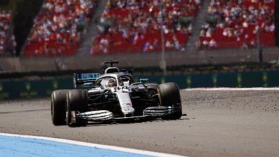 F1: doppietta Mercedes, vince Hamilton