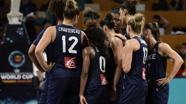 Les joueses de l'équipe de France lors d'un match de Coupe du monde aux Îles Canaries, le 28 septembre 2018
